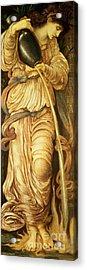 Temperantia, Acrylic Print by Edward Coley Burne-Jones