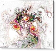 Tempest Acrylic Print by NirvanaBlues