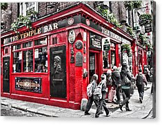 Temple Bar Pub Acrylic Print