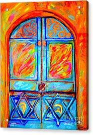 Temple Door Acrylic Print