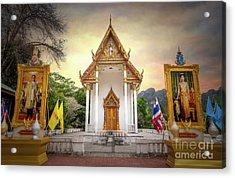 Temple Entrance Acrylic Print