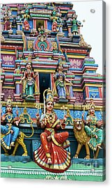 Temple Gopuram Acrylic Print