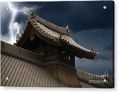 Temple In The Sky Acrylic Print