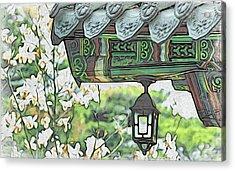 Temple Light Acrylic Print