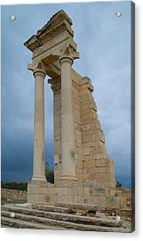 Temple Of Apollo Acrylic Print