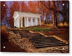 Temple Of Diana Lazienki Park Warsaw  Acrylic Print by Carol Japp