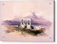 Temple Of Hathor, 1930s Acrylic Print by Science Source