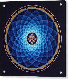 Temple Of Healing Acrylic Print