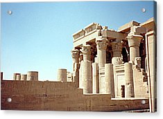 Temple Of Kom Ombo, 1 Acrylic Print