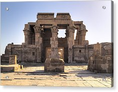 Temple Of Kom Ombo - Egypt Acrylic Print by Joana Kruse
