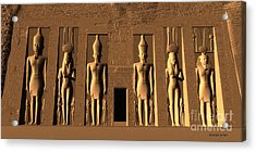 Temple Of Nefertari Acrylic Print