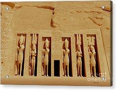 Temple Of Nefertiti Acrylic Print