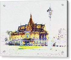 Temple Of The Buddha Acrylic Print