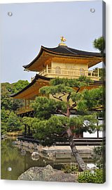 Temple Of The Golden Pavilion Acrylic Print