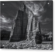 Temple Of The Moon I/r View Acrylic Print