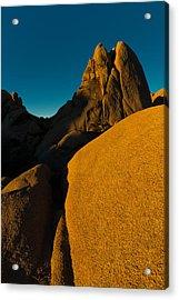 Temple Rock, Joshua Tree, Sunrise Acrylic Print