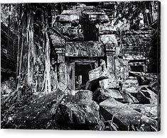 Temple Ruins - Cambodia Acrylic Print