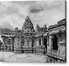 Temple Ruins Acrylic Print by Paul Illian