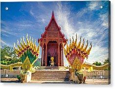 Temple Thailand Acrylic Print