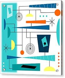 Tempo Acrylic Print by Tara Hutton