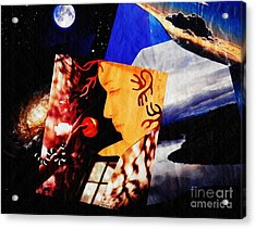 Temptation Of Eve Acrylic Print