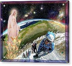 Temptation Of Saint Swarun Acrylic Print