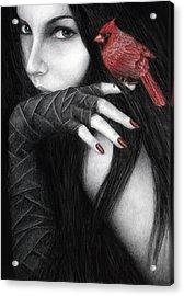 Temptation Acrylic Print by Pat Erickson