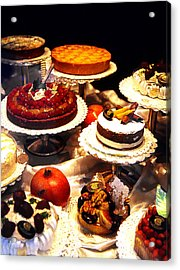 Tempting Treats...untitled Acrylic Print by Linda  Parker