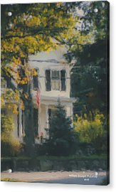 Ten Lincoln Street, Easton, Ma Acrylic Print