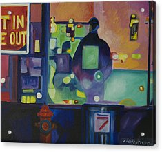 Acrylic Print featuring the painting Ten Minutes by Patricia Arroyo