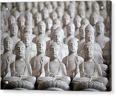 Ten Thousand Buddhas Acrylic Print by Patricia Bolgosano