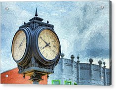 Ten Till Eight Acrylic Print by JC Findley