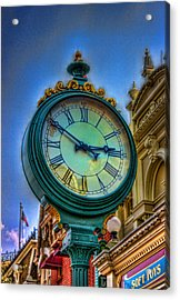 Ten Till Acrylic Print by Joetta West