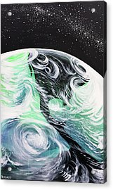 Acrylic Print featuring the painting Tenaciously Mindful by Nathan Rhoads