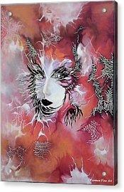 Tender Demon  Acrylic Print by Carmen Fine Art