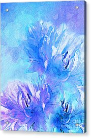 Acrylic Print featuring the digital art Tenderness by Klara Acel