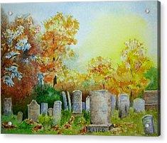 Tennant Cemetery New Jersey Acrylic Print