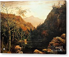 Tennesse River Acrylic Print by Lee Piper
