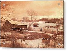 Tennessee Farmland Acrylic Print