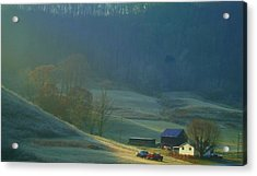 Tennessee Morning.. Acrylic Print by Al  Swasey