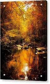 Tennessee Mountains Autumn Acrylic Print