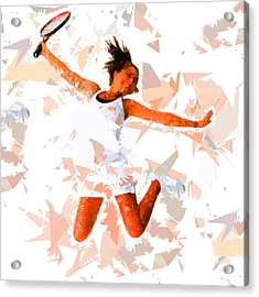 Acrylic Print featuring the painting Tennis 115 by Movie Poster Prints