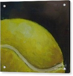 Tennis Ball No. 2 Acrylic Print by Kristine Kainer