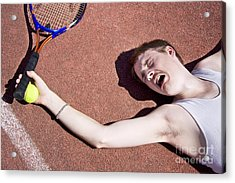 Tennis Elbow Acrylic Print