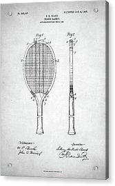 Tennis Racket Patent 1907 Acrylic Print