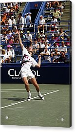 Tennis Serve Acrylic Print