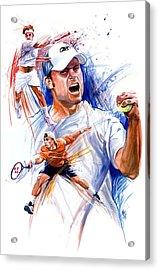 Tennis Snapshot Acrylic Print