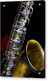 Acrylic Print featuring the photograph Tenor #1 by Jim Mathis