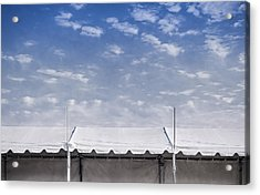 Tent Acrylic Print by Scott Norris