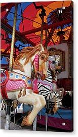 Tented Carousel Acrylic Print